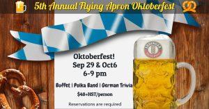 5th Annual Flying Apron Oktoberfest