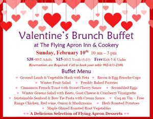 Valentine's Brunch Buffet