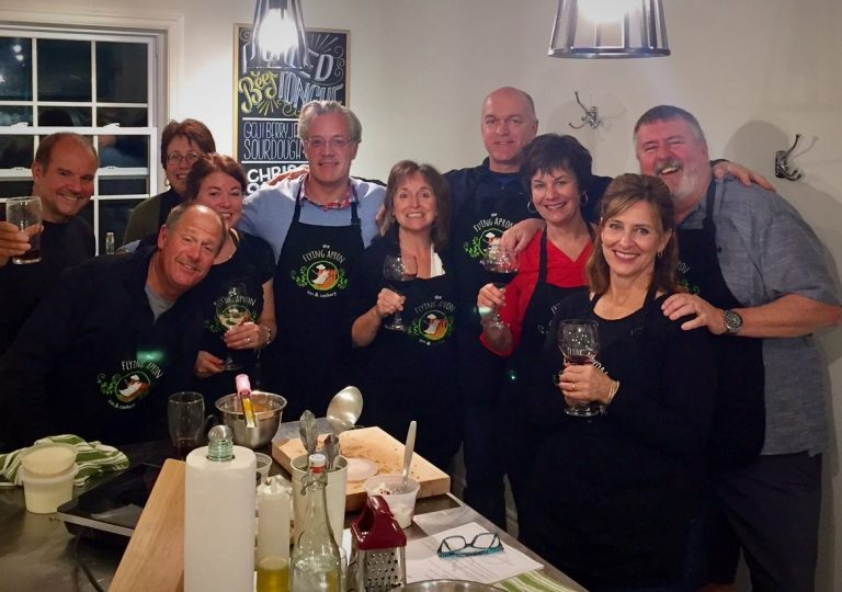 Group Getaway Private Cooking Class