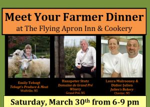 Meet Your Farmer Dinner