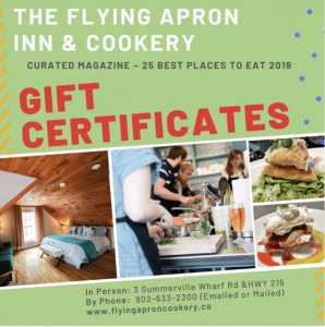 Flying Apron Gift Certificates
