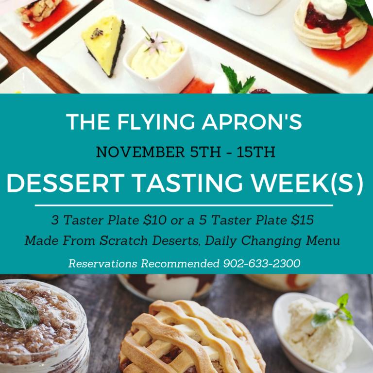 Dessert Tasting Weeks